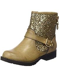 XTI Botin Niña. C. Taupe, Zapatos de Cordones Derby para Niñas