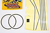 FireCloud Cycles LAZY TOWN all characters Kids BICYCLE Bike STICKER SET (LARGE) UNISEX in YELLOW