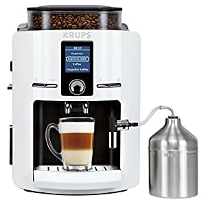 Krups EA 8245 – Coffee (Espresso Machine, White, Coffee/Espresso, Cappuccino, 381 x 287 x 483 mm)