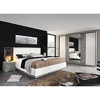 Lifestyle4living Schlafzimmer Schlafzimmermobel Set Komplettset