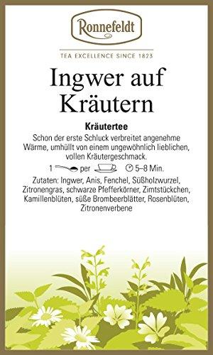 Ronnefeldt - Ingwer auf Kräutern - Kräutertee - 100g