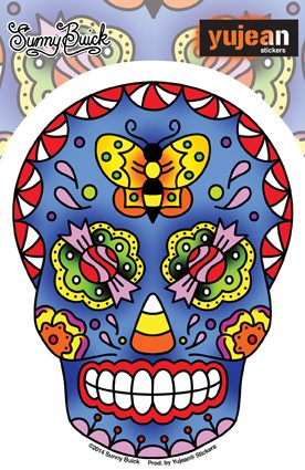 sunny-buick-old-skool-candy-sugar-skull-sticker-375-x-5-die-cut-decal-sticker