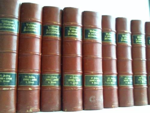 Monatshefte 1928-1935, in 14 Bänden