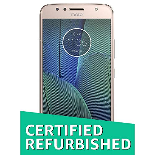 (Certified REFURBISHED) Motorola G 5S Plus XT1804 (Blush Gold, 64GB)
