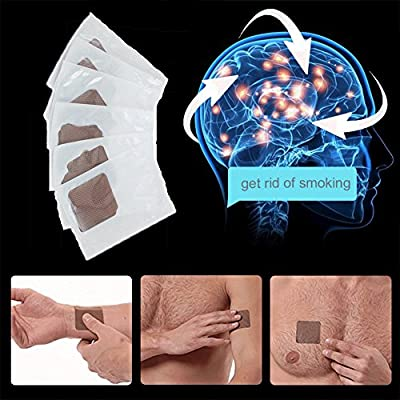 Finlon Quit Stop Smoking Aids Patch Nicotine Patches Anti Smoke Patch 30 Pcs for Smoke Cessation from Finlon