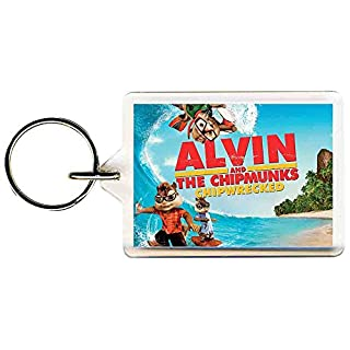 Alvin and the Chipmunks Chipwrecked 4 Keyring 50mm x 35mm