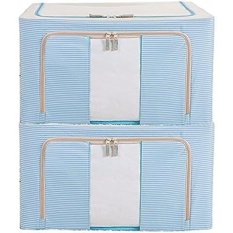 Anaqueles de ropa extra grande tela Oxford impermeable locker marea 66L-pedazo consolador bolsa de almacenamiento,pecho rosado,
