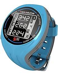 Score Industries 55554 SI 35 - Reloj de golf con GPS, color azul