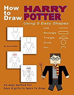 How to Draw Harry Potter Using 5 Easy Shapes (English Edition ...