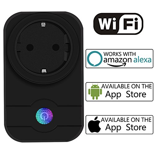 EMISH Wifi Steckdose Intelligente WLAN Steckdose Smart Plug