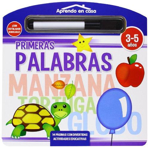 PRIMERAS PALABRAS LIBRO PIZARRA (APRENDO EN CASA)