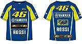 VR46 T-Shirt Enfant Kid Yamaha M1 Valentino Rossi TG. 1/2