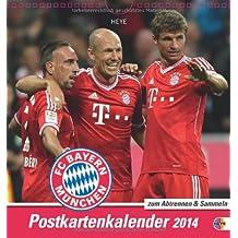 FC Bayern München 2014 Sammelkartenkalender