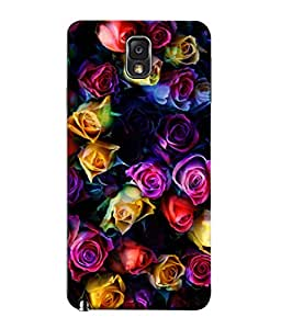 PrintVisa Beautiful Coloured Roses 3D Hard Polycarbonate Designer Back Case Cover for Samsung Galaxy Note 3 Neo :: Samsung Galaxy Note 3 Neo Duos :: Samsung Galaxy Note 3 Neo 3G N750 :: Samsung Galaxy Note 3 Neo Lte+ N7505 :: Samsung Galaxy Note 3 Neo Dual Sim N7502