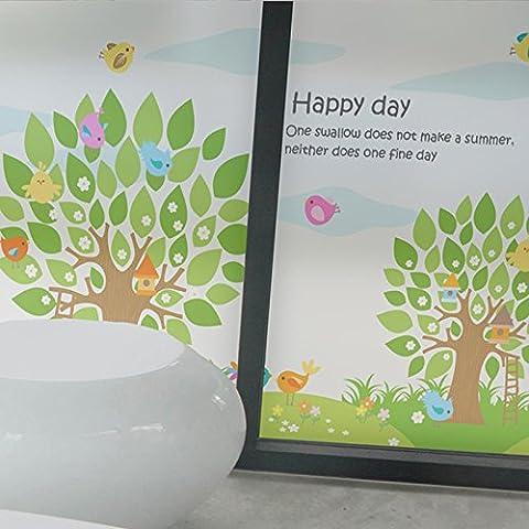 XI.W.H Statische Kunststoff Milchglas Film Fenster Sonnenschutz Balkon Aufkleber Bad Bad Haushalt Fenster Papier, Gummi - Breite 60 cm * Hohe 80 Cm