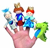 Manhattan Toy Finger Puppet Box Set A Day at The Castle