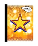 """Best Composts - NEW! Compost Composition Notebook 9.75""""""""X7.5"""""""" 80 Sheets-Fame, College Review"""