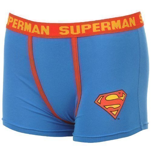 Superman Herren Boxershorts (Boxer Baumwolle Superman)