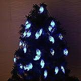 FSTgo Solar Lichterkette LED Sternen Solar Lichterkette Outdoor Lichter Multi-color Weihnachtskugel Licht für drinnen , Garten, zuhause, Rasen, Party oder Feriendekoration (2)