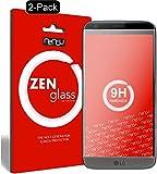 nandu I ZenGlass [2 Stück] Flexible Glas-Folie für LG G5 Panzerfolie I Display-Schutzfolie 9H I (Kleiner Als Das Gewölbte Display)