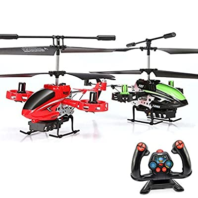 4.5Channel RC Avatar Fire Wolf RC Model Helicopter with GYRO NEW SIDE Rotors and Technology Ready to Fly Helicopter New