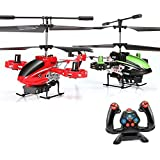 4,5 Kanal RC ferngesteuerter Modell-Hubschrauber Avatar-Firewolf Design,Gyro-Technik, Ready-to-Fly Heli, Komplett-Set inkl. CRASH-KIT