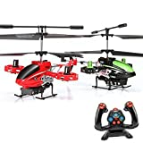 4,5 Kanal RC ferngesteuerter Modell-Hubschrauber Avatar-Firewolf Design,Gyro-Technik, Ready-to-Fly Heli, Komplett-Set inkl. CRASH-KIT