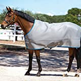 Rambo Airmax Pony/Horse Cooler Rug - Black/Grey/Grey: 6ft3""