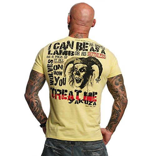 Yakuza Original Herren Treat Me T-Shirt Raffia