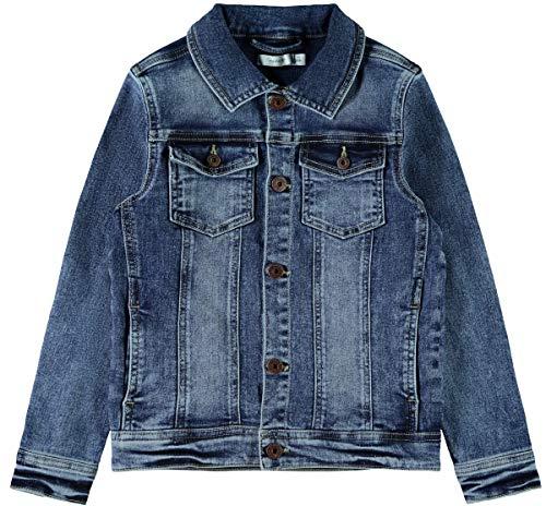 Name IT NOS Jungen Jacke NKMTYRION DNM Jacket 2196 NOOS, Blau (Medium Blue Denim), (Herstellergröße: 140)