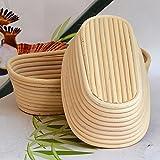 Cathy02Marshall Gärkorb Brotform Natur für selbstgemachtes Brot - Zero Waste Nachhaltig Gärkörbchen S:15 * 8 * 5cm/5.91 * 3.15 * 1.97in