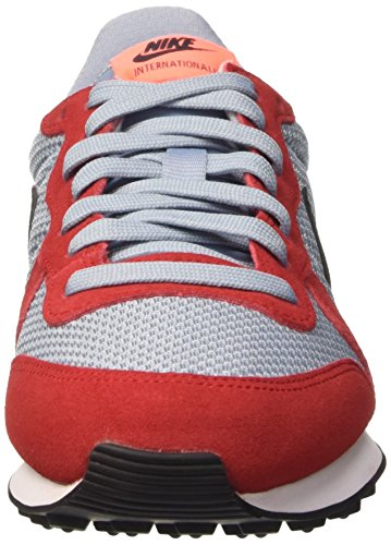 Nike Wmns Internationalist, Scarpe da Corsa Donna Rosso (University Red/Black/Blue Grey)