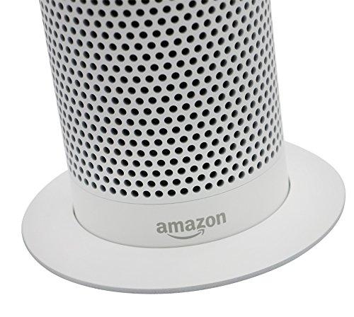 Soundbass – Premium Amazon Echo Metallständer (Weißer Ständer) | Diskretes High-End Sockeldesign...