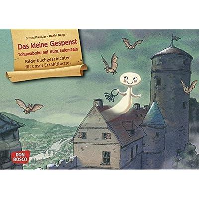 Das kleine Gespenst. Kamishibai Bildkartenset.: Tohuwabohu auf Burg Eulenstein. Entdecken - Erzählen - Begreifen: Bilderbuchgeschichten