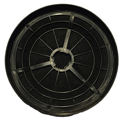 Exquisit Aktivkohlefilter Kohlefilter für Dunstabzugshaube 2 STK. Schwarz CF110