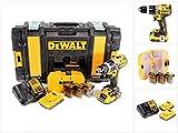 DeWalt DCD796D2KX-QW DCK796D2KX-QW Schlagbohrschr-Set 18V 2,0(BL) mit Zub, 460 W, 18 V, schwarz/gelb