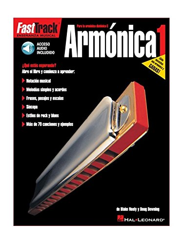 Fast Track: Armonica 1. Partitions, CD pour Harmonica
