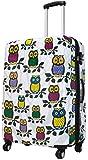 Koffer XL Eule Owls Vogel Tier 74x51x30cm Hartschale Reise Trolley Schloss Bowatex
