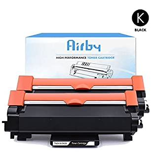 2x Airby New Compatible Brother TN2420 TN2410 Toner Cartridge (with latest chip)