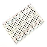 Bluelover 10Pcs 8.5 X 5.5Cm Weiß 400 Löcher Solderless Breadboard Für Arduino