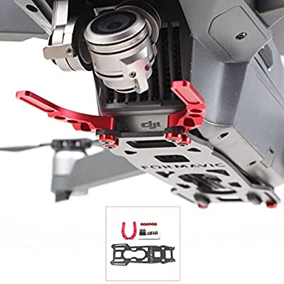 Eagle Visible Gimbal Guard 3K Carbon Fiber Protective Board Gimbal Protector for DJI MAVIC PRO Won't Affect Down Vision System