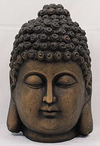 Buddhakopf 41cm Buddha Statue Figur Skulptur