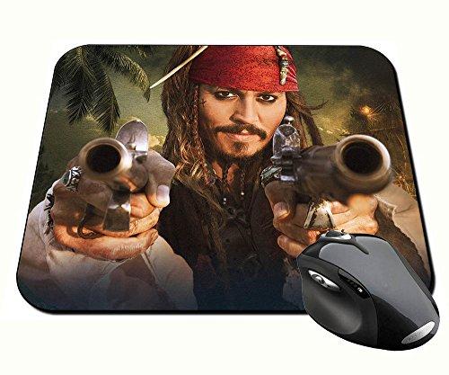 Preisvergleich Produktbild Fluch der Karibik Pirates of the Caribbean Jack Sparrow Johnny Depp B Badteppich Mousepad PC