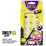 Zucker-Smileys, gelb