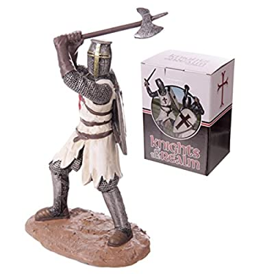 Crusader Knight With Battleaxe Ready For Battle These Fantasy Knight, Princess And Historical