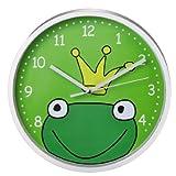 "Hama Kinderwanduhr ""Froschkönig"" grün"