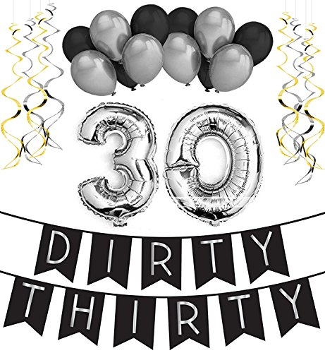Sterling James Co Dirty Thirty 30 Geburtstag Party Set