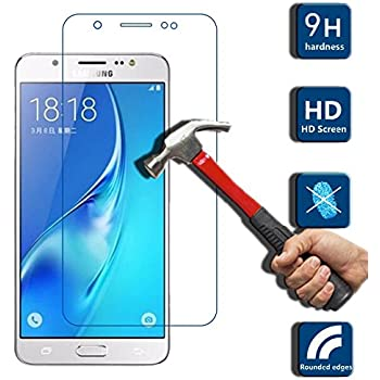 Samsung Galaxy J7 - 6 2016 Tempered Glass, Original Ziaon 2.5D 9H Tempered Glass Screen Protector with Oleophobic Coating for Samsung Galaxy J7 - 6 2016 Version