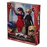 Erstaunlichen: Die Abenteuer von Ladybug–Pack 2Puppen Ladybug 2und Antibug (Bandai 39812)