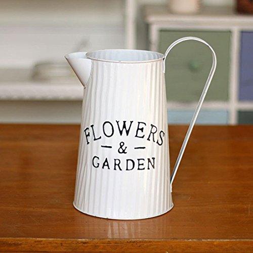 apsoonsell metálico de flores jarra Chic jarra jarrón eléctrica para decoración del...